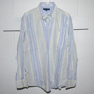 Tommy Hilfiger mens shirt size 16 L J88